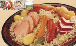 Choucroute Royale Konigliches Sauerkraut Elsassisch Surkrut